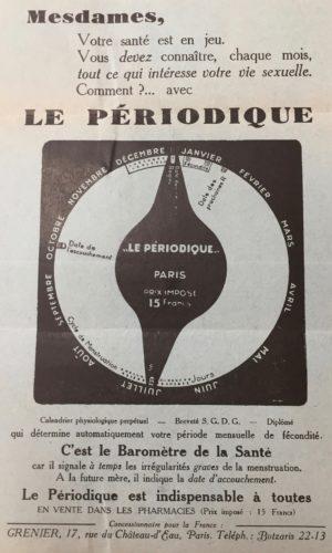 """Prospectus pour """"Le Périodique"""""""