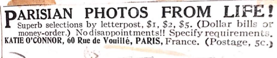 La vente d'articles ardents au début du XXe siècle  : du transnational sous le manteau